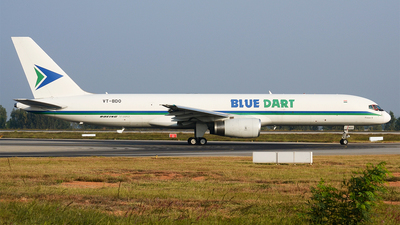 VT-BDO - Boeing 757-208(PCF) - Blue Dart Aviation