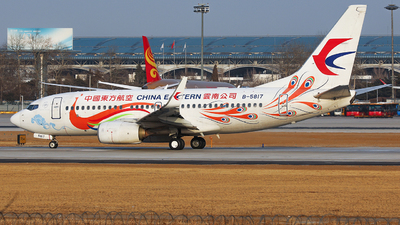 A picture of B5817 - Boeing 73779P - China Eastern Airlines - © Evan Zhang