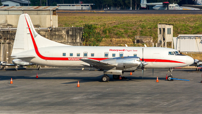 N580HW - Convair CV-580 - Honeywell Aerospace