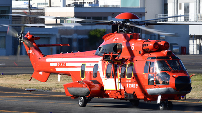 JA62HC - Eurocopter EC 225LP Super Puma II+ - Japan - Tokyo Fire Department
