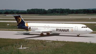EI-CCX - British Aircraft Corporation BAC 1-11 Series 525FT - Ryanair