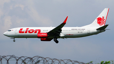 PK-LJS - Boeing 737-8GP - Lion Air