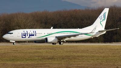 5A-DMG - Boeing 737-8GK - Buraq Air