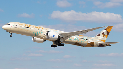 A picture of A6BLN - Boeing 7879 Dreamliner - Etihad Airways - © Moritz Babl