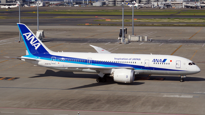 JA827A - Boeing 787-8 Dreamliner - All Nippon Airways (ANA)