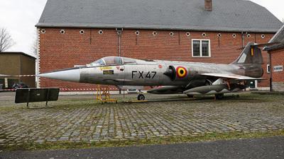 FX-47 - Lockheed F-104G Starfighter - Belgium - Air Force