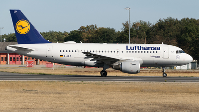 D-AILP - Airbus A319-114 - Lufthansa