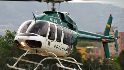 PNC0928 - Bell 407 - Colombia - Police