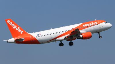 OE-IJE - Airbus A320-214 - easyJet Europe