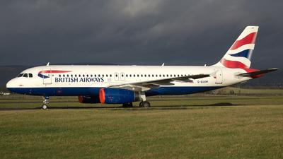 A picture of GEUUM - Airbus A320232 - British Airways - © Darren Conn