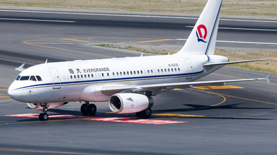 B-6435 - Airbus A319-133X(CJ) - Private