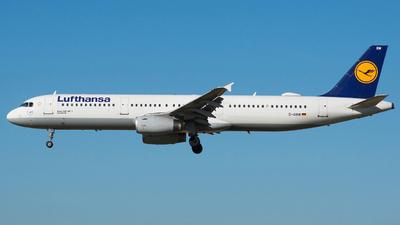 A picture of DAIRM - Airbus A321131 - Lufthansa - © Aldo Bidini