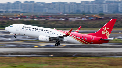 A picture of B5772 - Boeing 73787L - Shenzhen Airlines - © Sweet Potato