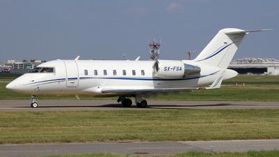 SX-FSA - Bombardier CL-600-2B16 Challenger 605 - GainJet Aviation