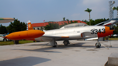 3343 - Lockheed T-33A Shooting Star - Taiwan - Air Force