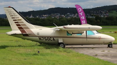 N750CA - Mitsubishi MU-2B-40 - Private