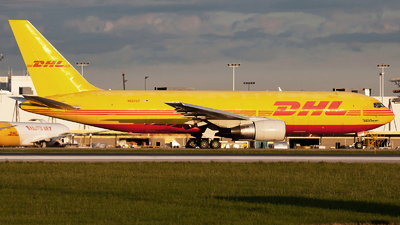 A picture of N657GT - Boeing 767281(BDSF) - DHL - © steve
