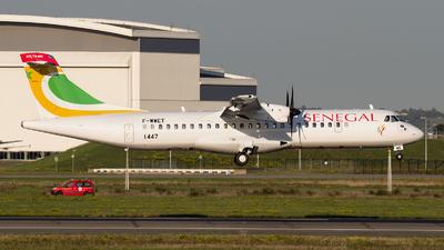 A picture of FWWET - ATR 72600 - [] - © Ramon Jordi