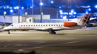 A picture of GSAJL - Embraer ERJ145EP - Loganair - © Ethan Hew - p_nilly
