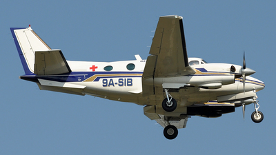 9A-SIB - Beechcraft C90 King Air - Air Pannonia