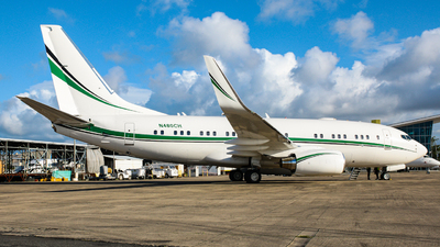 N480CH - Boeing 737-72T(BBJ) - Private