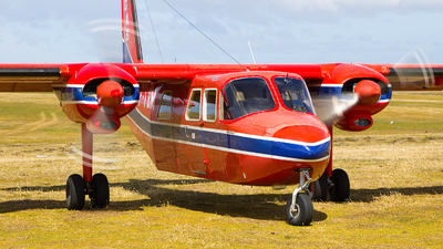 VP-FBM - Britten-Norman BN-2 Islander - Falkland Islands Government Air Services (FIGAS)