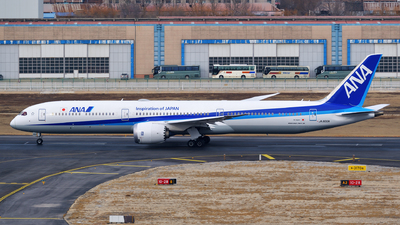 JA900A - Boeing 787-10 Dreamliner - All Nippon Airways (ANA)
