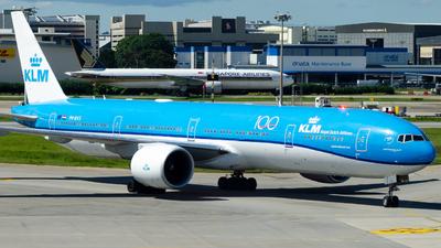 PH-BVS - Boeing 777-306ER - KLM Royal Dutch Airlines