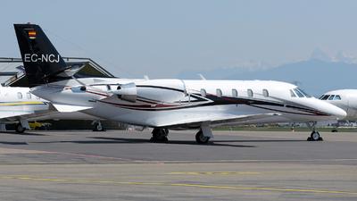 A picture of ECNCJ - Cessna 560 Citation XLS+ - [5606029] - © Paul Denton