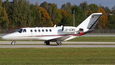A picture of DICMS - Cessna 525A CitationJet CJ2 - [525A0108] - © Martin Tietz