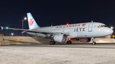 C-GBHN - Airbus A319-114 - Air Canada Jetz