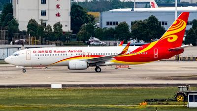 B-6061 - Boeing 737-84P - Hainan Airlines