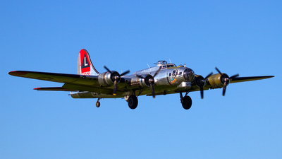 N3193G - Boeing B-17G Flying Fortress - Yankee Air Force
