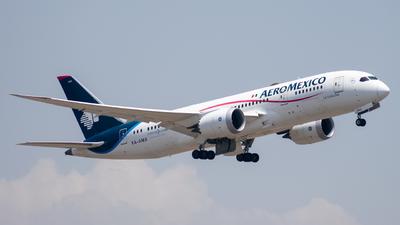 A picture of XAAMX - Boeing 7878 Dreamliner - Aeromexico - © Arturo Quintero