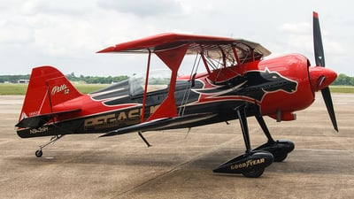 N348SH - Pitts 12S - Private