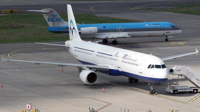 F-GYAN - Airbus A321-111 - Air Méditerranée