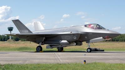F-008 - Lockheed Martin F-35A Lightning II - Netherlands - Royal Air Force