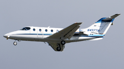 N497TM - Hawker Beechcraft 400A - Private