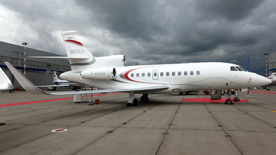 F-HVDA - Dassault Falcon 900LX - Dassault Aviation