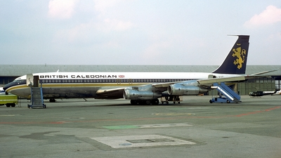 G-ATZC - Boeing 707-365C - British Caledonian Airways