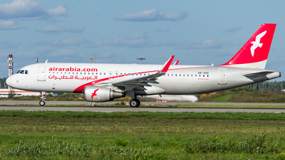 A6-AOC - Airbus A320-214 - Air Arabia