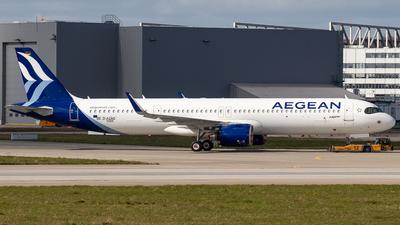 D-AZAG - Airbus A321-271NX - Aegean Airlines