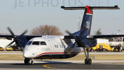 N936HA - Bombardier Dash 8-102 - US Airways Express (Piedmont Airlines)