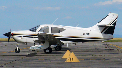 A picture of VHSLN - Rockwell 112 Commander - [486] - © George Canciani