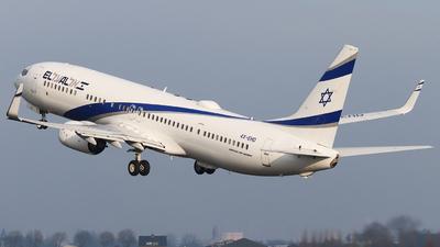 A picture of 4XEHD - Boeing 737958(ER) - El Al - © Joost Alexander
