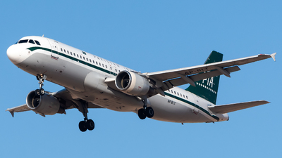 A picture of APBLT - Airbus A320214 - Pakistan International Airlines - © AirlinerSpotter