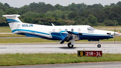 N56JW - Pilatus PC-12/47 - Private