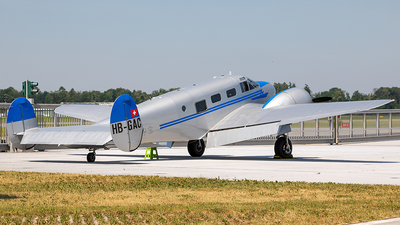 A picture of HBGAC - Beech C18S Expeditor - [8362] - © Markus Buttinger