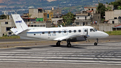 TG-TAG - Embraer EMB-110P1 Bandeirante - TAG Airlines - Transportes Aéreos Guatemaltecos