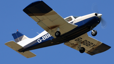 G-BBBY - Piper PA-28-140 Cherokee F - Private